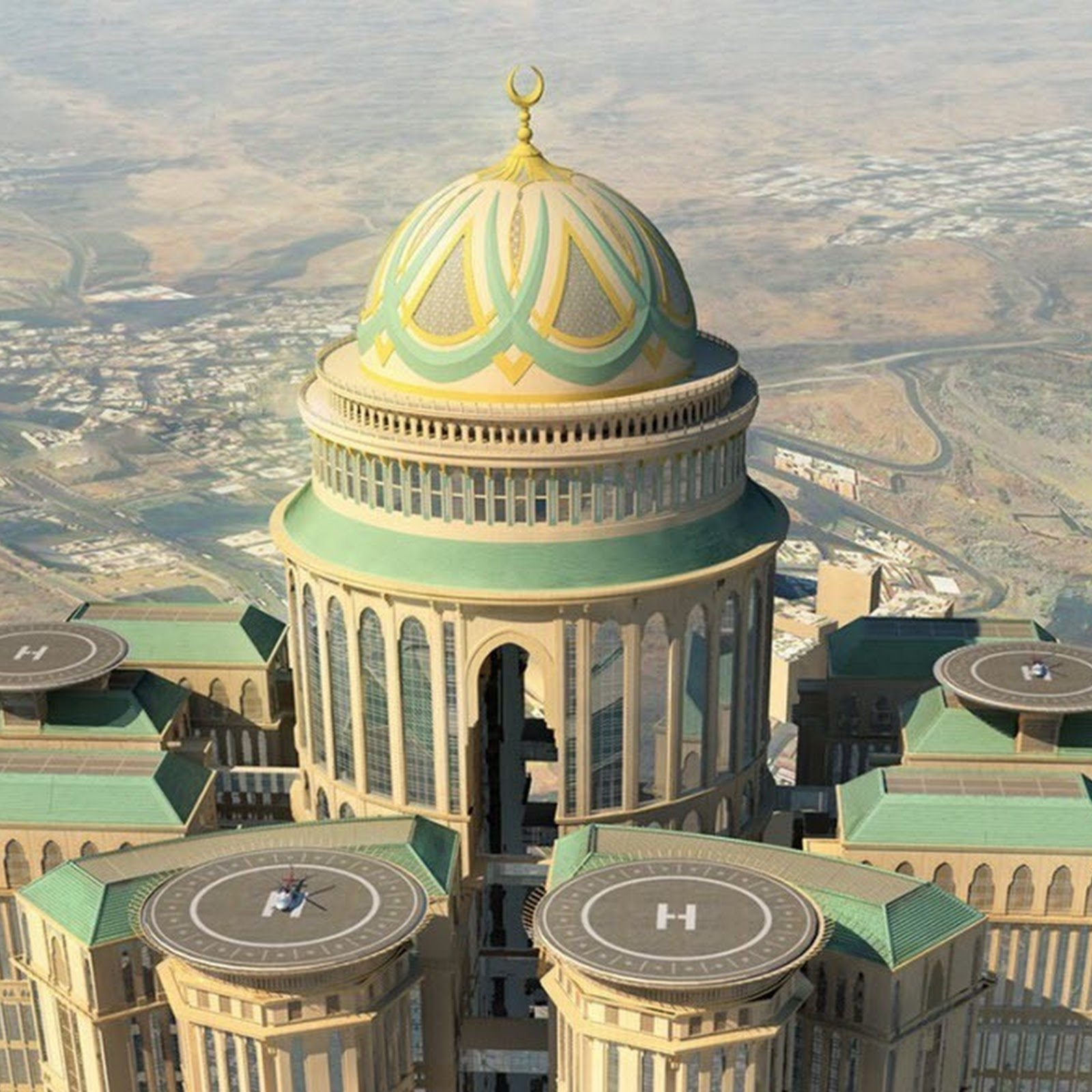 The Mega Hotels of Mecca