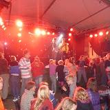 Playbackshow, feesttent, dorpsfeest Terwispel