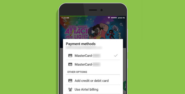 Airtel And Vodafone In India To Enjoy Google Play Carrier Billing