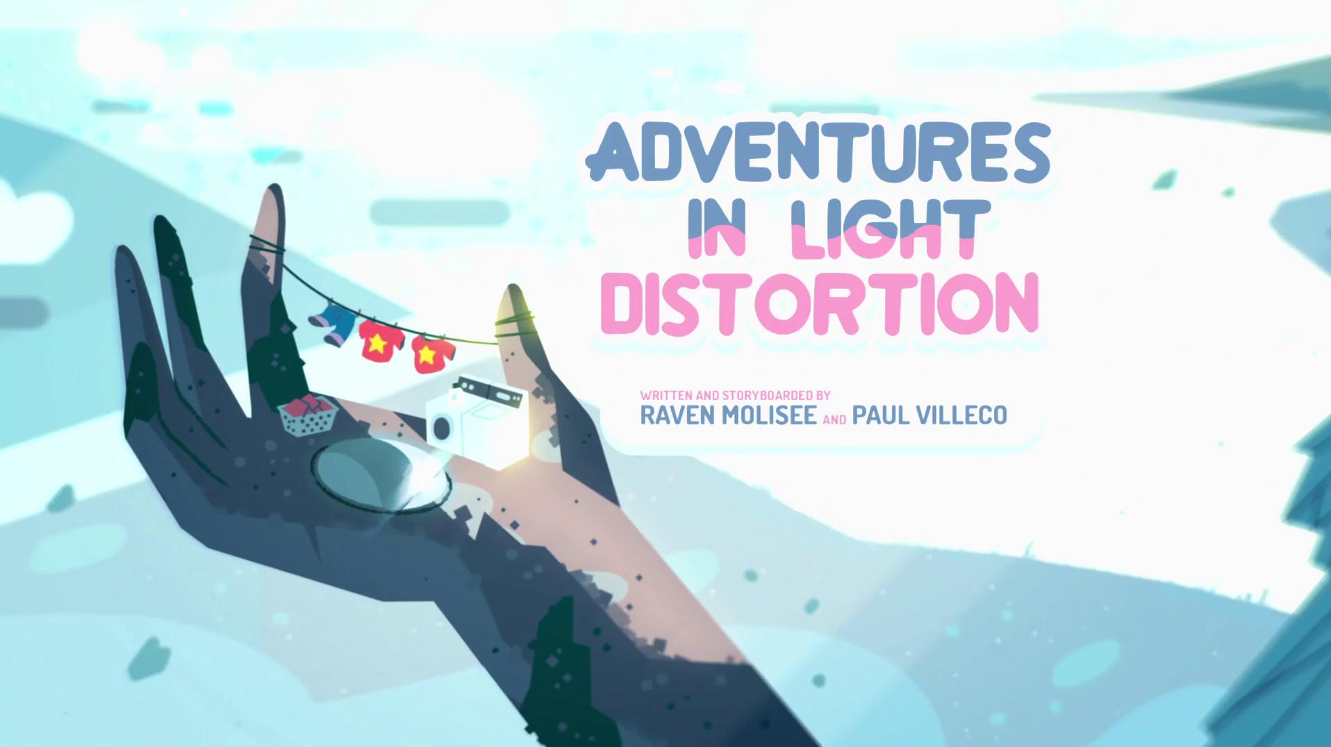 Steven Universo - Aventuras com Distorção de luz