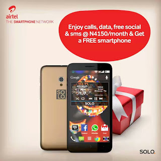 How To Get The SOLO ASPIRE M Smartphone Free From Airtel