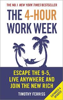 ملخص كتاب العمل لأربع ساعات اسبوعيا