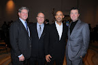 John Miller, CEO, Taco Bueno; Rob Scott, Scott & Scott, LLP; Brian Flowers; Chris Jeppesen Photos taken by Kristina Bowman