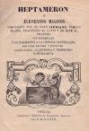 Heptameron Or Magical Elements