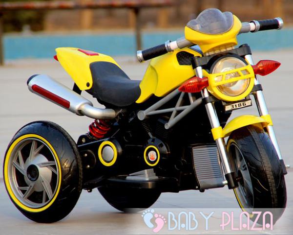 Xe moto điện trẻ em 3186 giá rẻ - TPHCM