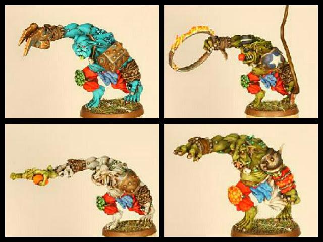 Blood Bowl Troll Gaspez goblins circo
