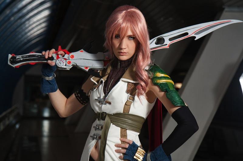 Sexy Lightning Final Fantasy XIII Cosplay 7