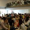 Acto de Inaguración del Curso 2008/09. Alumnos de Bachillerato acuden al acto.