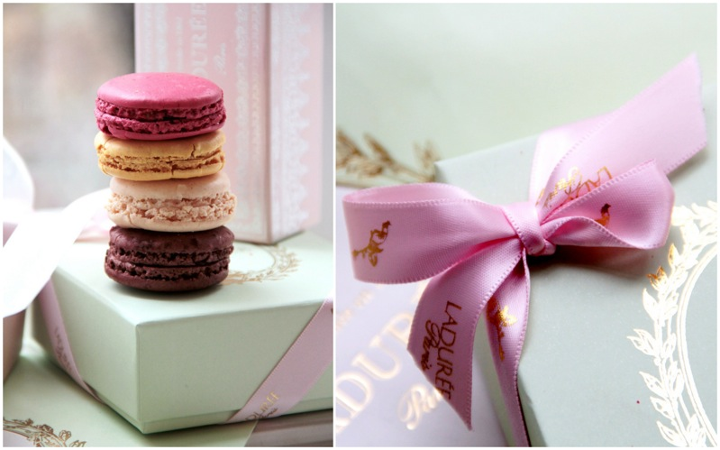 laduree macarons & box details