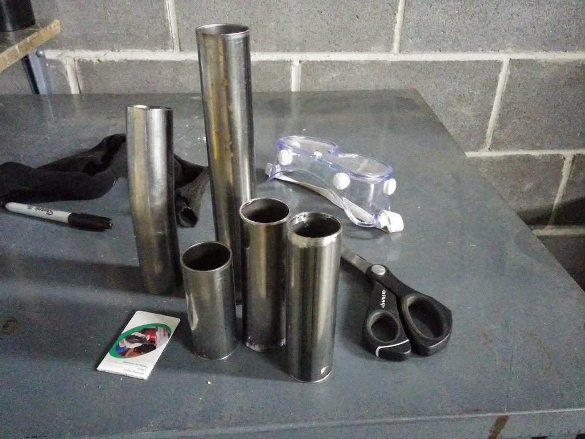 exhaust tubing
