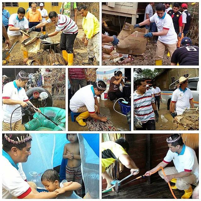 Azmin turun Pahang pula bantu mangsa banjir