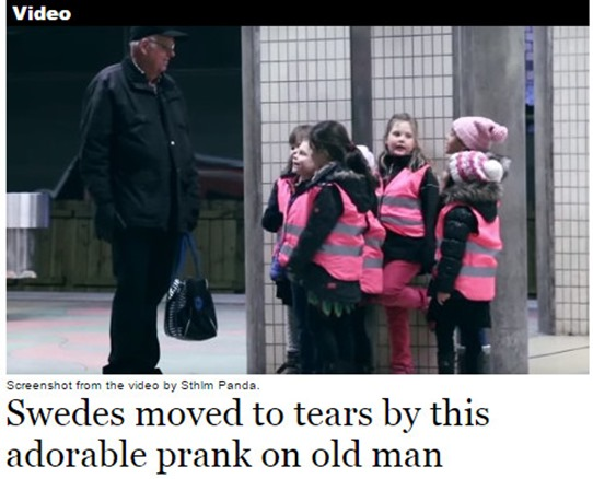 old guy prank
