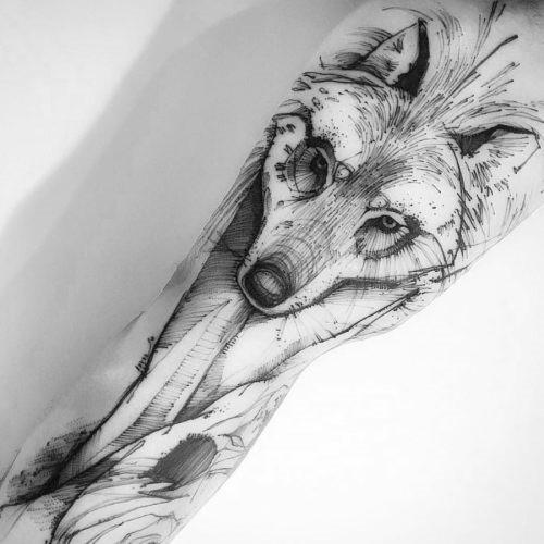 este_deslumbrante_lobo_tatuagem