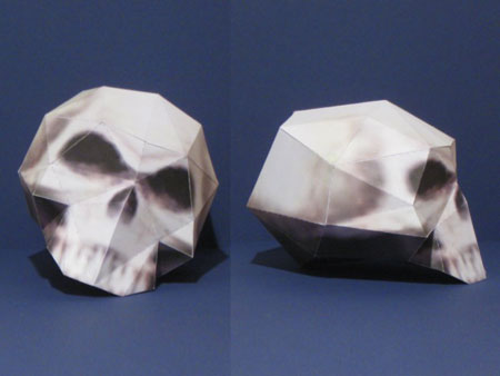 League of Legends Skull Papercraft