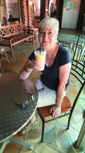 Pat and Mango Smoothie