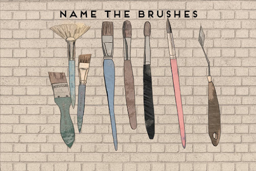 Name the artists brushes