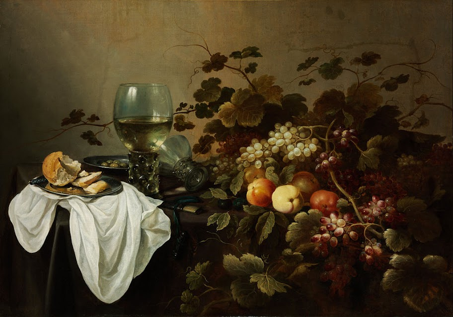 Pieter Claesz - Still Life with Fruit and Roemer - Google Art Project
