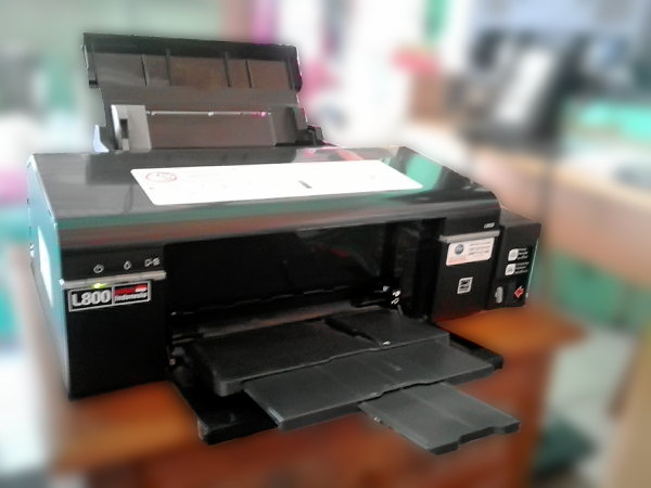 Printer Epson Inkjet Photo L800 Untuk Usaha Cetak Photo