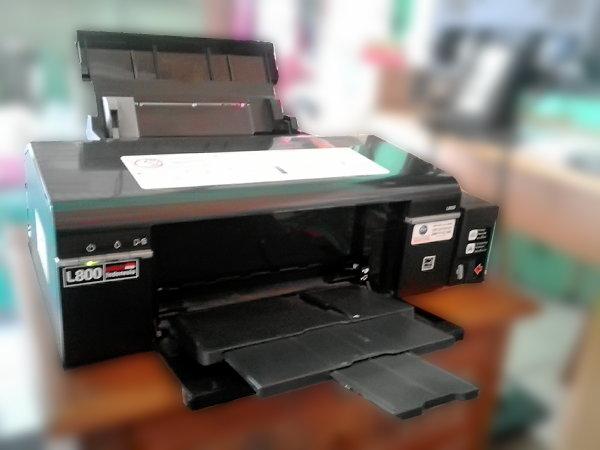 Printer Epson Inkjet Photo L800 Untuk Usaha Cetak Photo