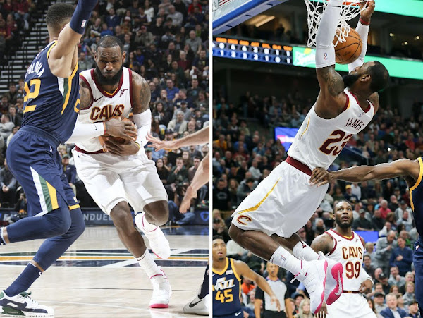 King James Rocks Kay Yow Nike LeBron Soldier 11 on 33rd Birthday
