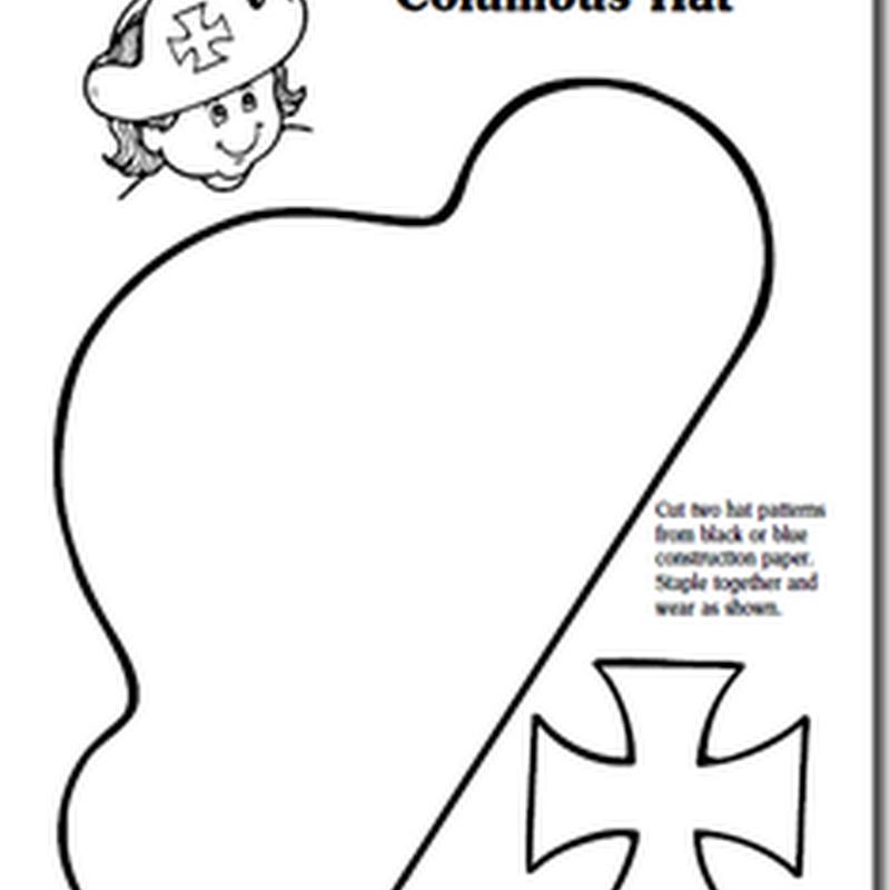 Manualidades Sombrero de Cristóbal Colón