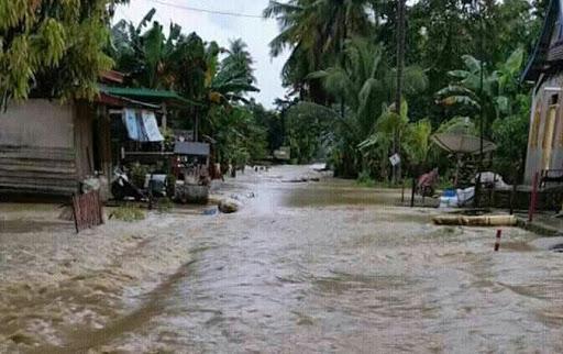 Banjir di Bone Merendam Desa Lea Keseluruhan