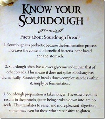 sourdough facts