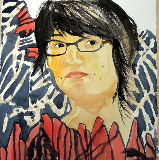 Lisa Hsia, self-portrait