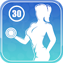 Workout 4 Women - 30 Days Challenge at Home icon
