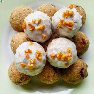 Vegan Coconut Pumpkin Truffles.
