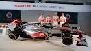 McLaren MP4-27 Mercedes Launch