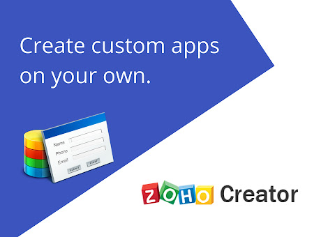 Zoho Creator: Build your own business apps