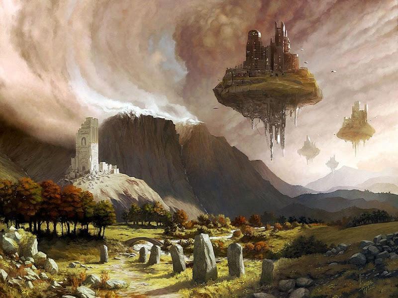 Sorrow Of Horror Landscape 1, Magical Landscapes 5