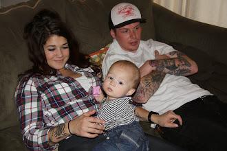 Photo: 12/22 - Meredith, Hudson and Mere's boyfriend Zach.