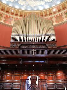 Lovely Lane choir loft