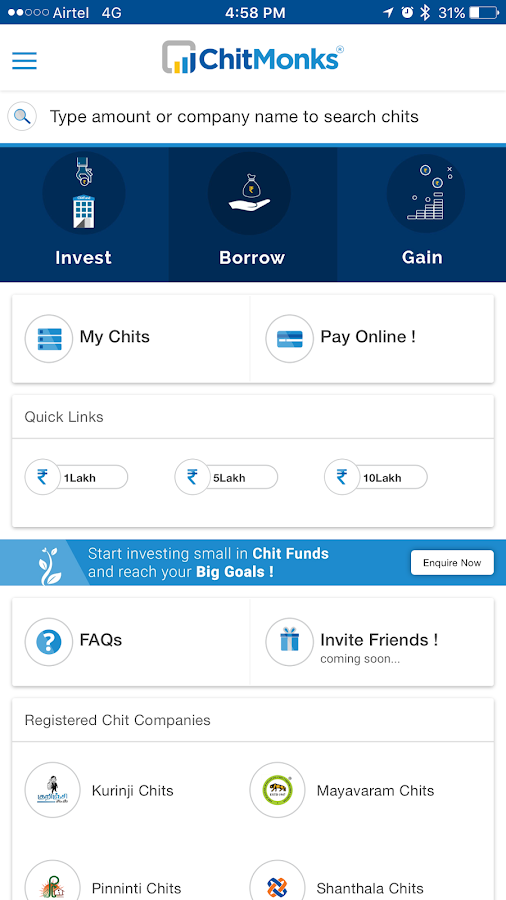 ChitMonks - Trusted Chit Funds- screenshot