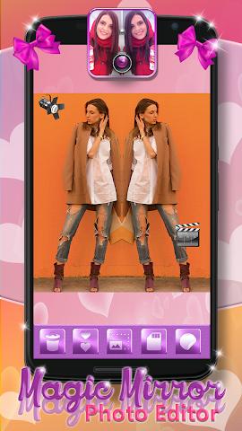android Magic Mirror Photo Editor Screenshot 2