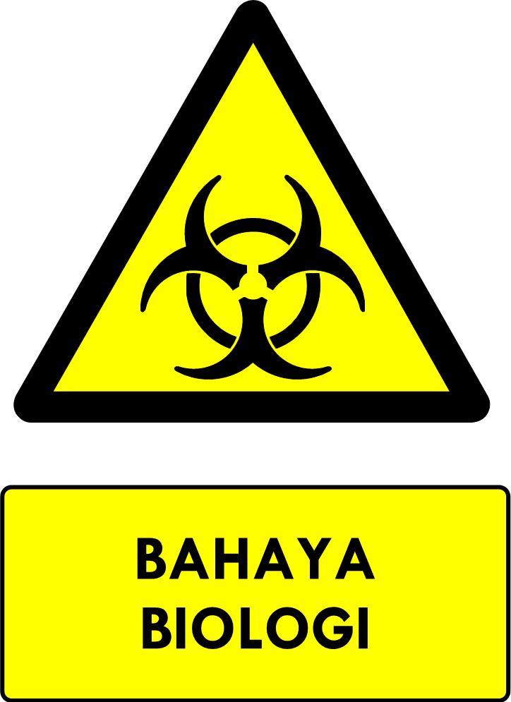 Rambu Bahaya Biologi