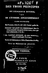 Des Trois Principes de l'essence Divine (1802,in French)