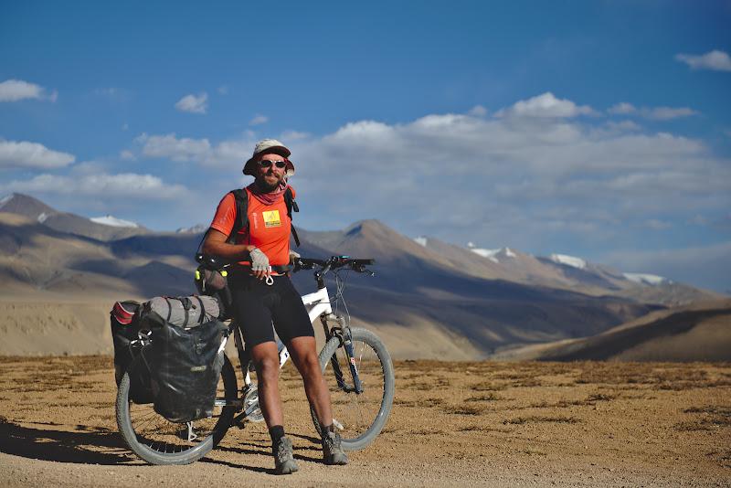 Portret de cicloturist.