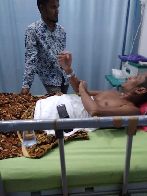 M. Ali Pasien Penjepitan Tulang Belakang Dirujuk ke RSZA