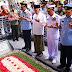 Ziarah ke Makam Gusdur, Panglima TNI Disambut Ratusan Santri