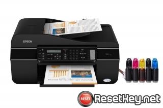 Resetting Epson TX510FN printer Waste Ink Counter