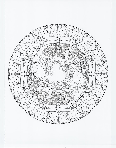 Nature Mandalas Coloring Book Dover Coloring Books Marty Noble Coloring