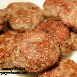 Breakfast Sausage Patties.