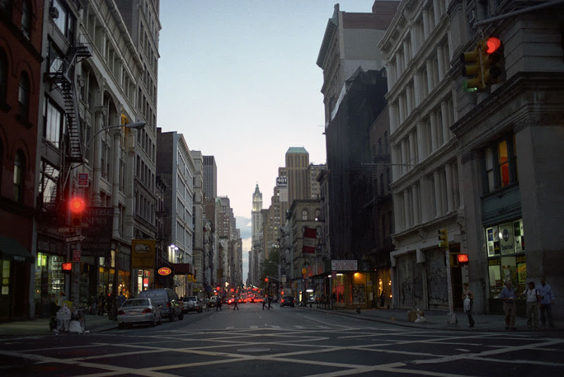 Dusk in NYC