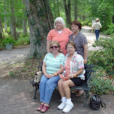 The sisters at Cypress Gardens.