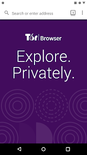 Tor Browser for Android (Alpha) Screenshot