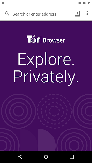 Tor Browser (Alpha) Android App Screenshot
