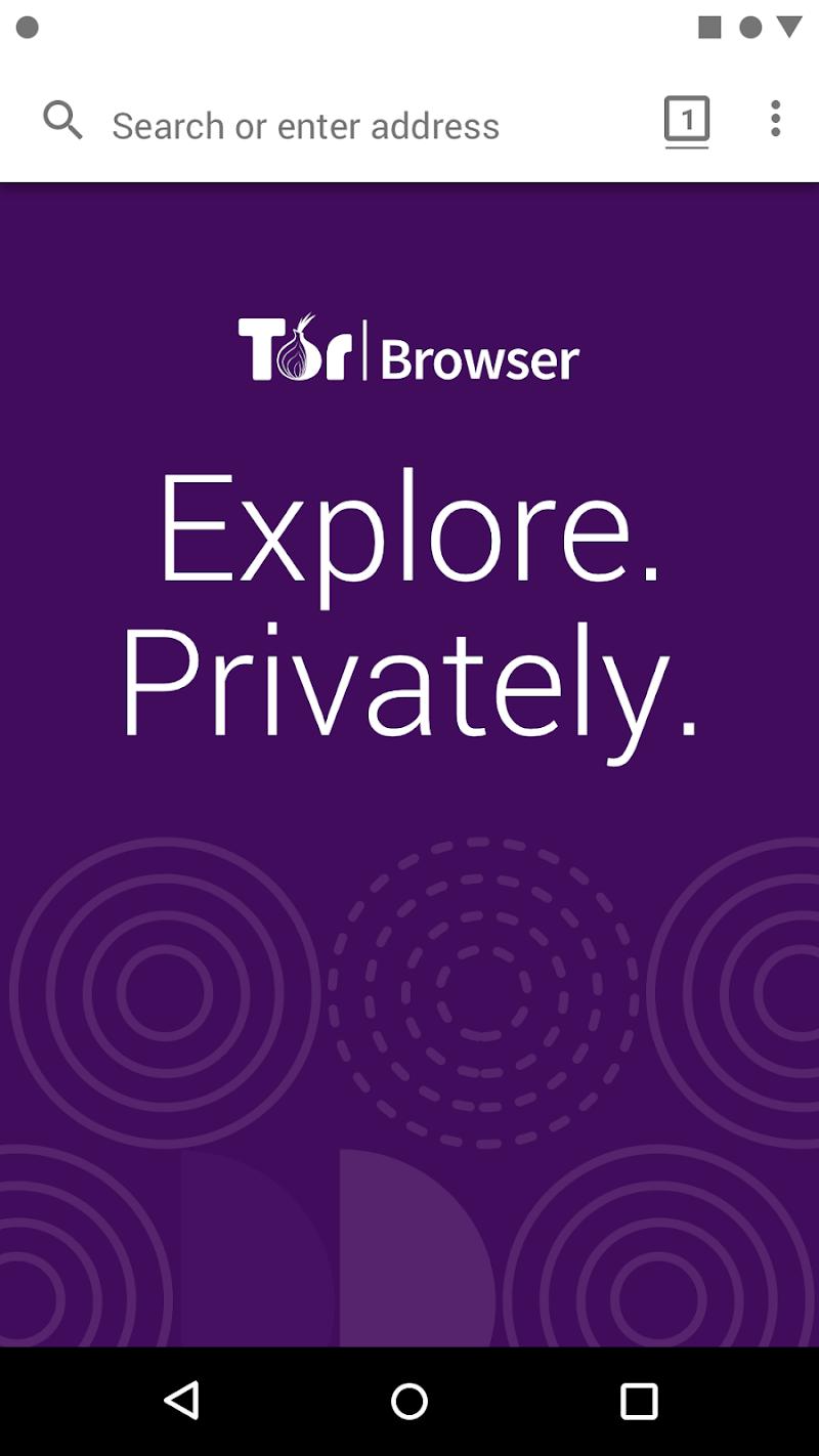 Tor Browser (Alpha) Screenshot 0
